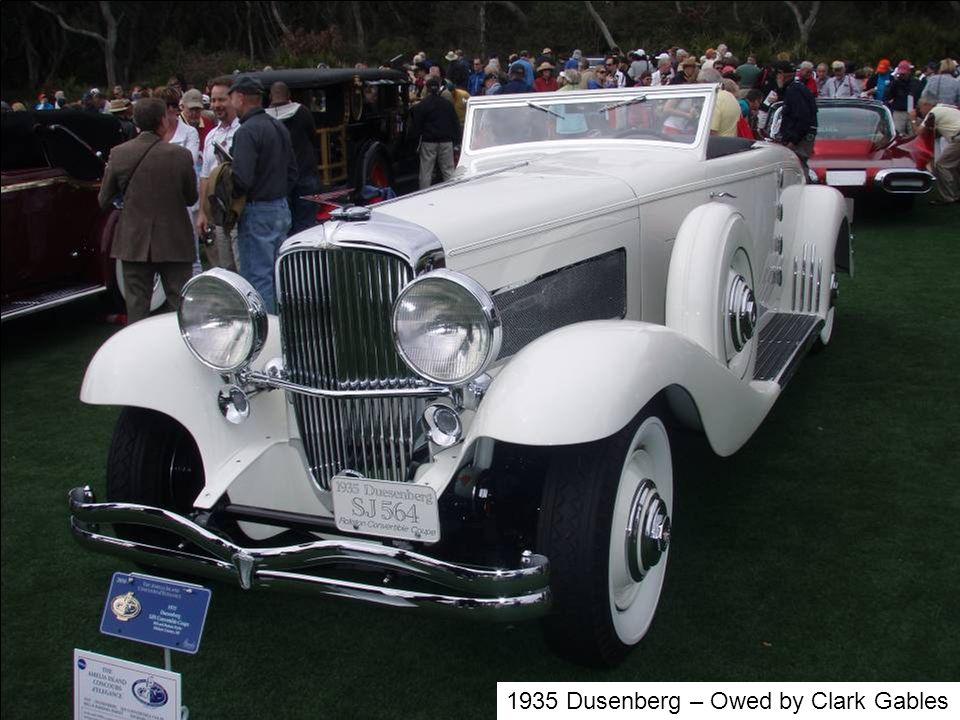 1935 Dusenberg – Owed by Clark Gables