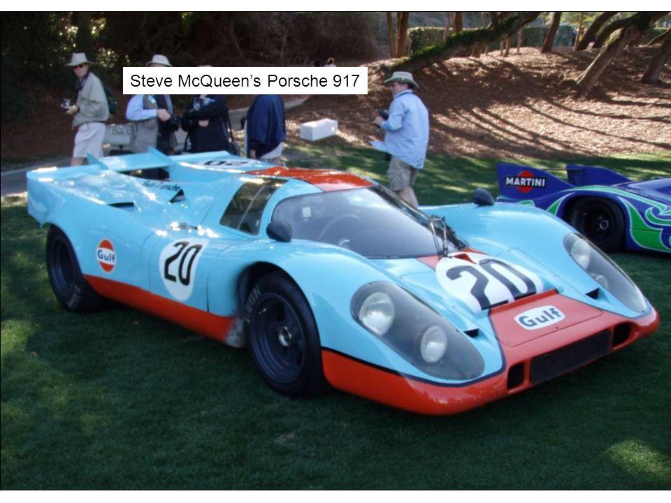Steve McQueen's Porsche 917