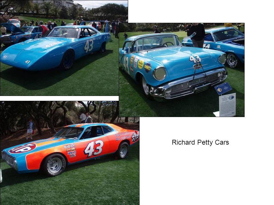 Richard Petty Cars
