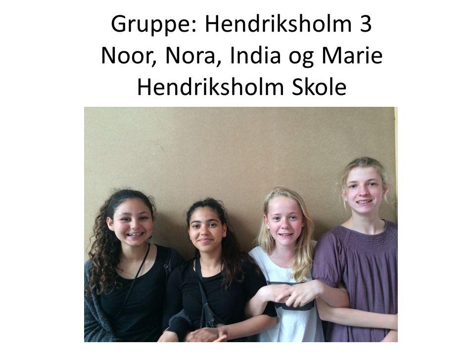 Gruppe: Hendriksholm 4 August, Emil J, Andreas og Valtrim Hendriksholm Skole