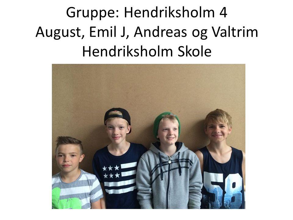 Gruppe: Hendriksholm 5 Nicolia, Luna og Line Hendriksholm Skole