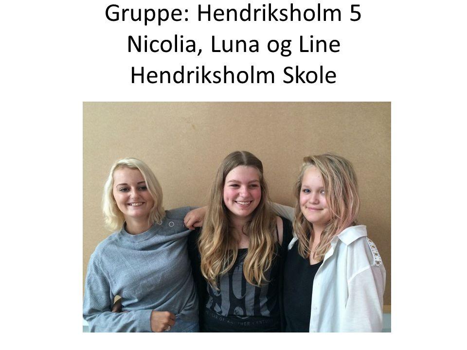 Gruppe: Team number one Emma, Mathilde, Maha og Thora Rødovre Skole