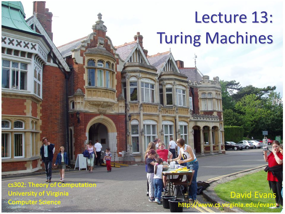 12 Lecture 13: Turing Machines Simulating 3-DPDA with 2-DPDA # # A B