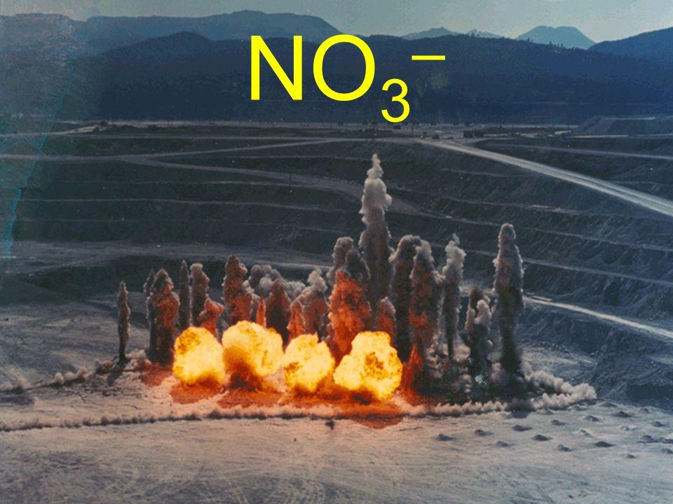 NO 3 –
