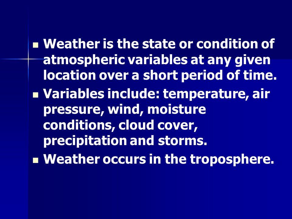 Atmospheric Pressure & Density Air pressure can also be called barometric pressure and vapor pressure.