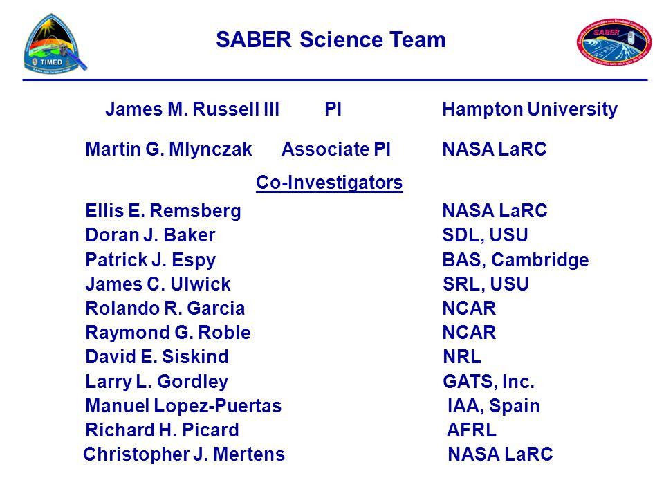 James M.Russell III PI Hampton University Martin G.