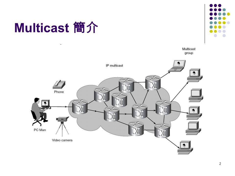 2 Multicast 簡介