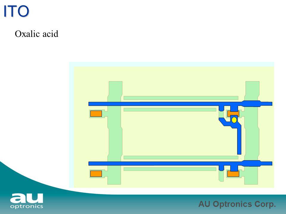 ITO Oxalic acid