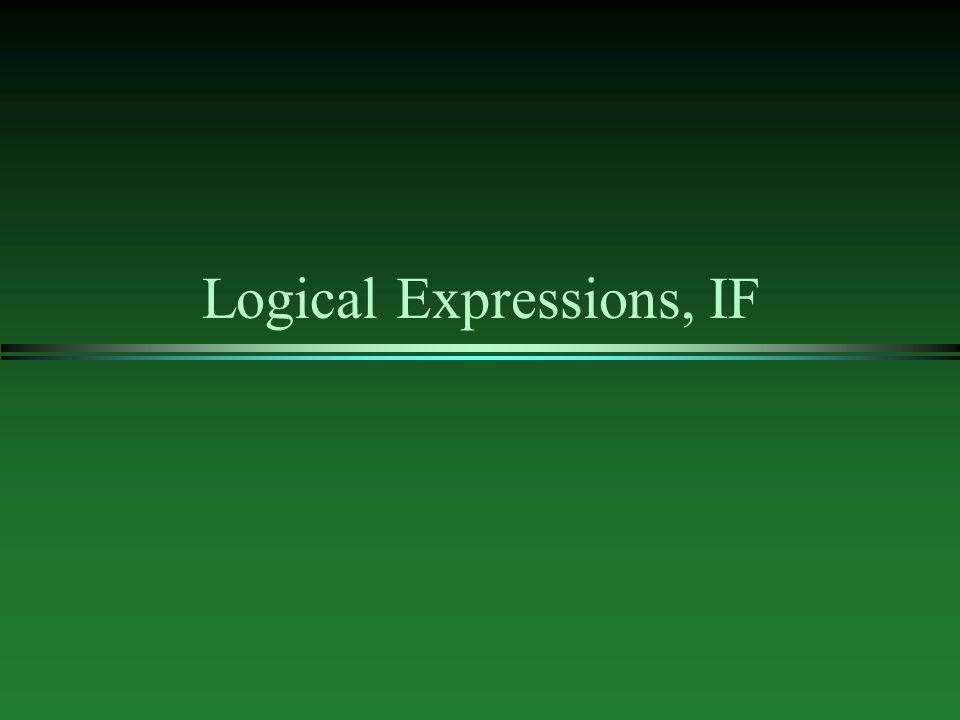 Operator Precedence Revisited l same or different.