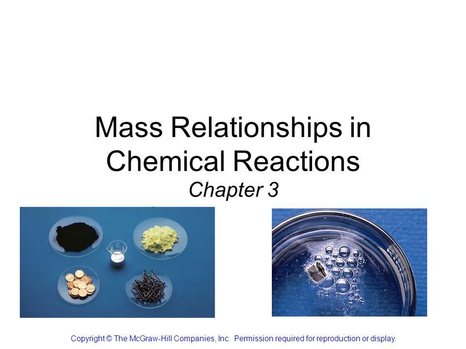 How to Read Chemical Equations 2 Mg + O 2 2 MgO 2 atoms Mg + 1 molecule O 2 makes 2 formula units MgO 2 moles Mg + 1 mole O 2 makes 2 moles MgO 48.6 grams Mg + 32.0 grams O 2 makes 80.6 g MgO IS NOT 2 grams Mg + 1 gram O 2 makes 2 g MgO 3.7