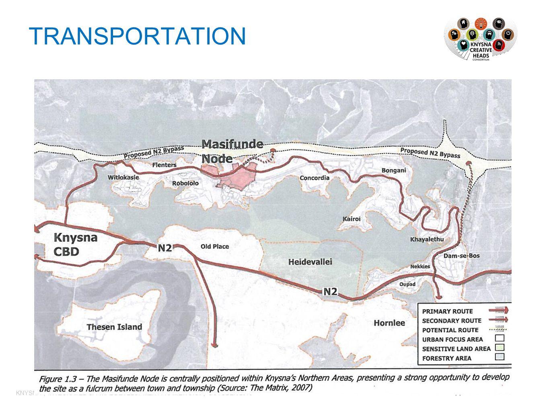 TRANSPORTATION 11 KNYSNA | INTEGRATED SPATIAL DEVELOPMENT FRAMEWORK | OCTOBER 2013