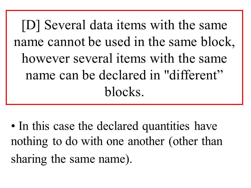 procedure EXAMPLE is N1: float:= 4.2; N2: float:= 9.6; procedure MEAN_VALUE (X1: in out float; X2: in float) is begin X1:= (X1+X2)/2.0; end MEAN_VALUE; begin MEAN_VALUE(N1, N2); put(N1); new_line; end EXAMPLE;