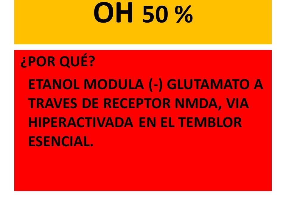 OH 50 % ¿POR QUÉ.