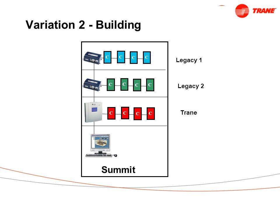Variation 2 - Building C C C C C C C C C C C C Summit Legacy 1 Legacy 2 Trane