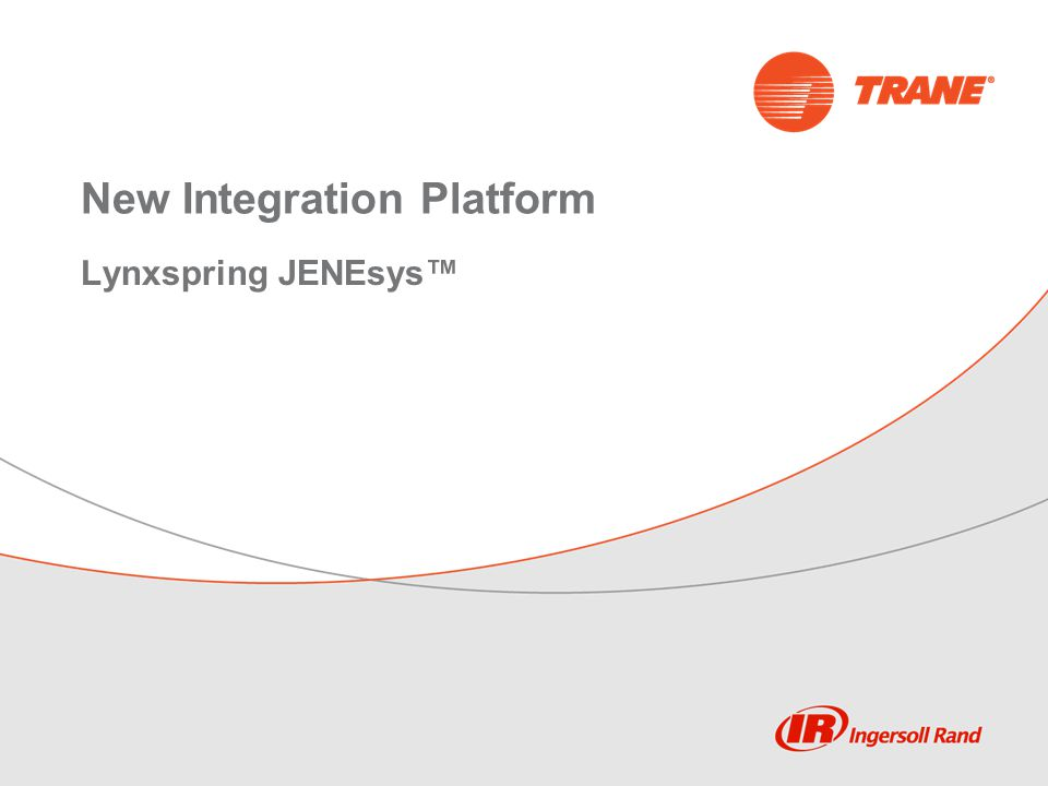 New Integration Platform Lynxspring JENEsys™