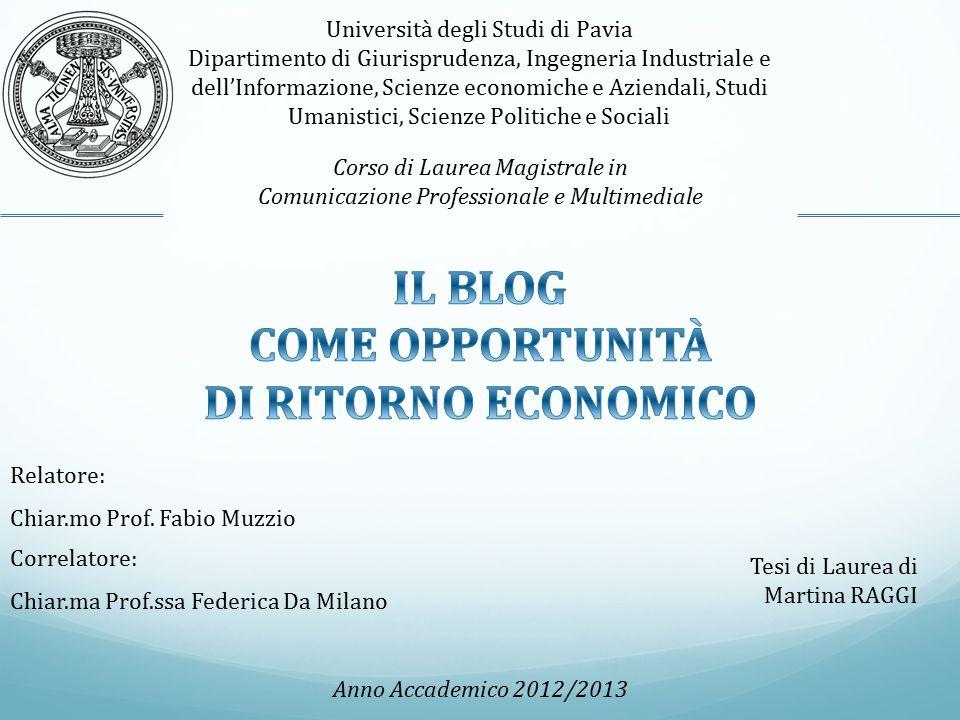 Università degli Studi di Pavia Dipartimento di Giurisprudenza, Ingegneria Industriale e dell'Informazione, Scienze economiche e Aziendali, Studi Uman