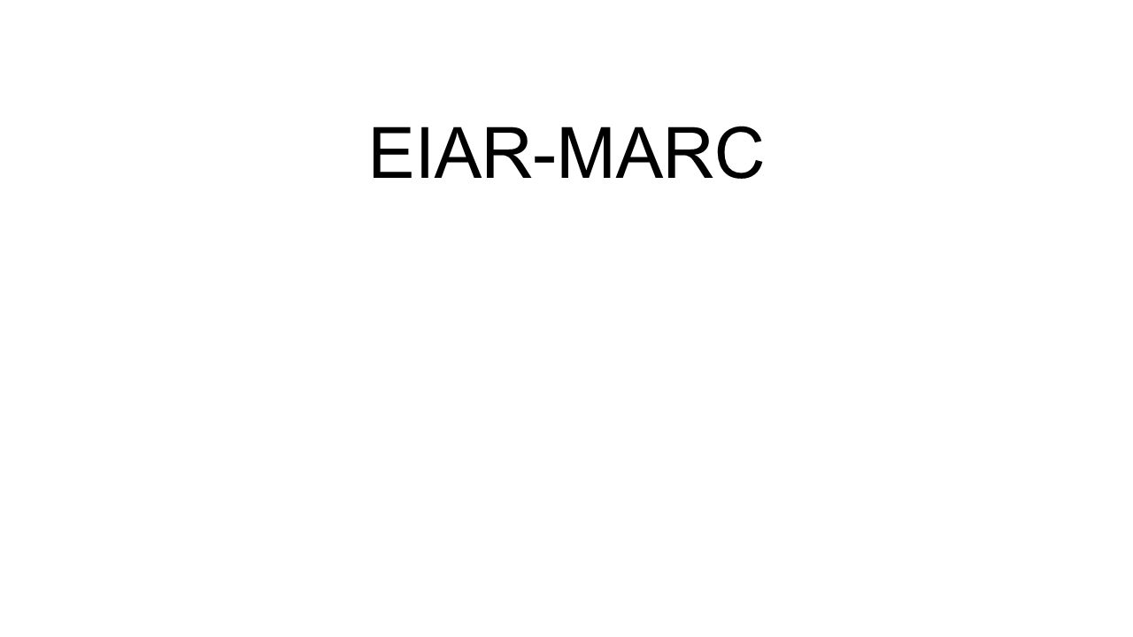 EIAR-MARC