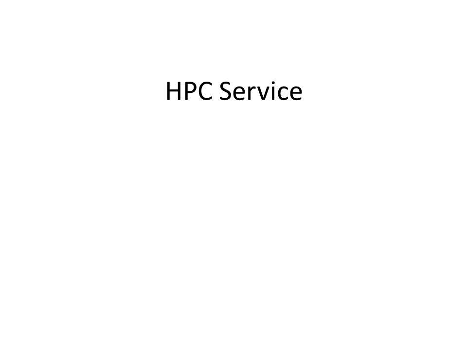 HPC Service