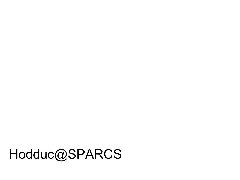 Hodduc@SPARCS