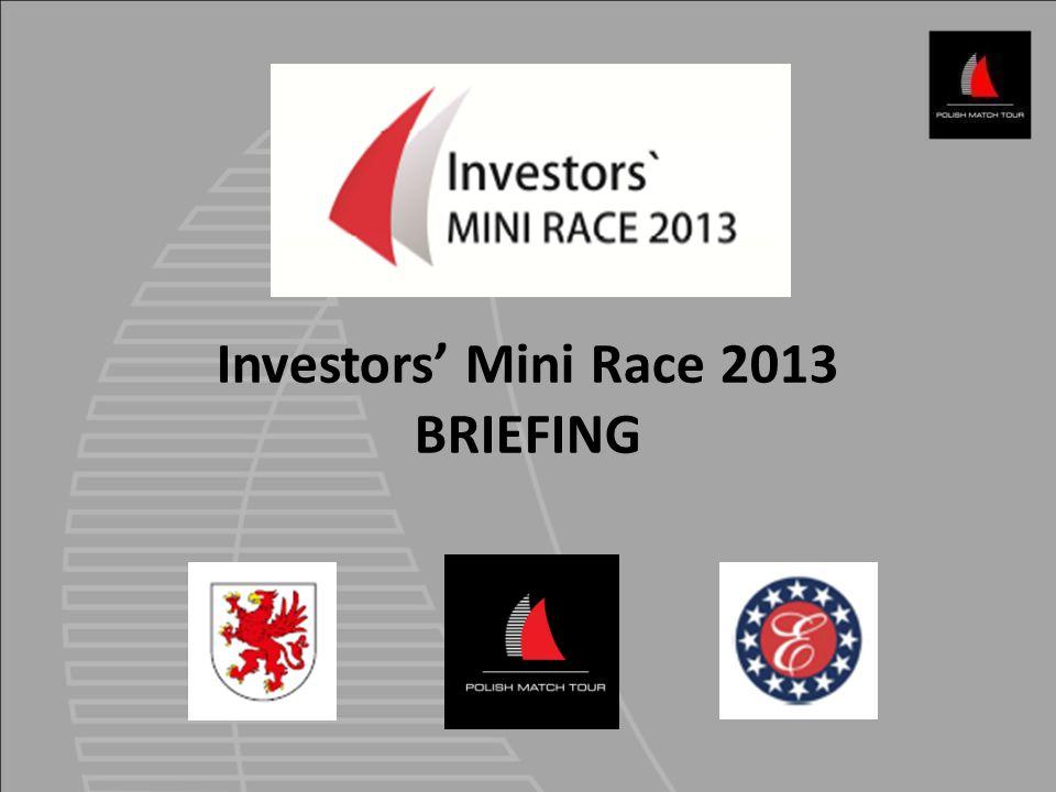 Investors' Mini Race 2013 BRIEFING