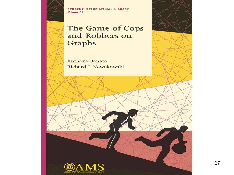 Random cop-win graphs Anthony Bonato 27