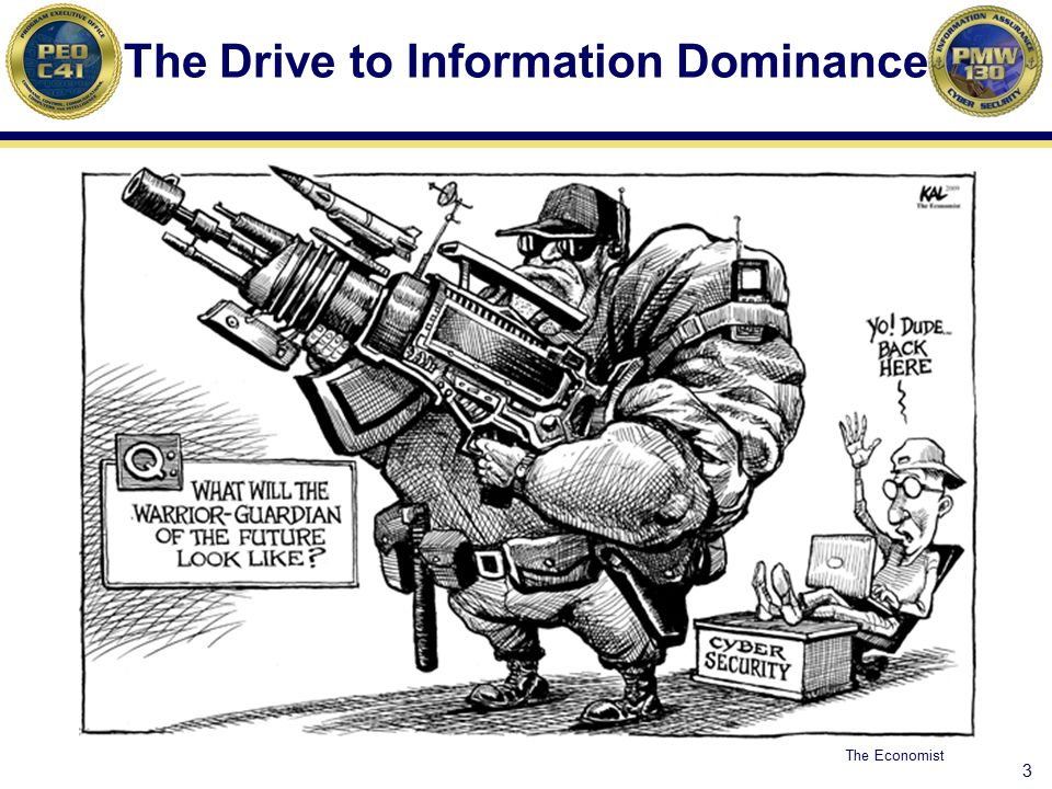 3 The Drive to Information Dominance The Economist