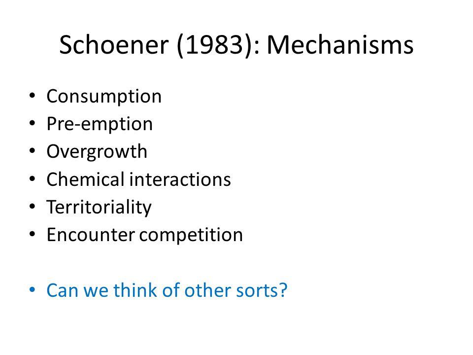 Schoener 1983