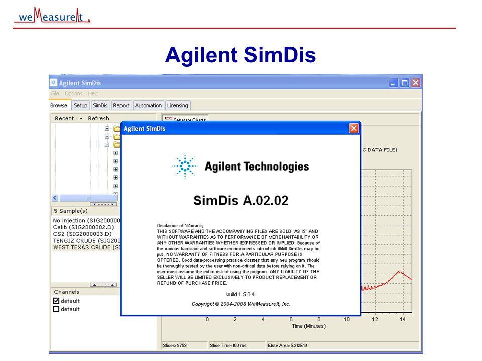 © 2000, 2001 weMeasureIt inc Agilent SimDis