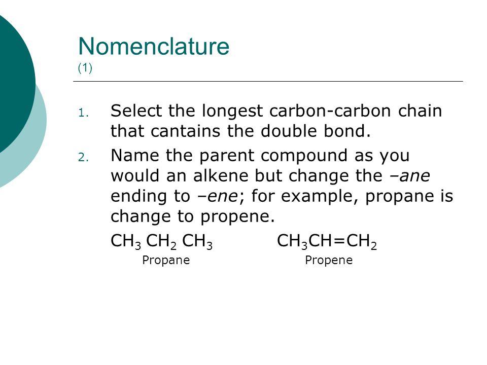 Nomenclature (2) 3.