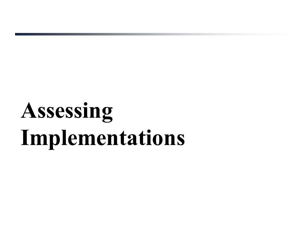 IPv6 Fragmentation Assessing Implementations
