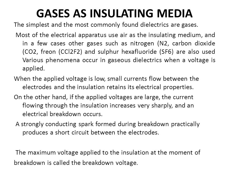 The electrical discharges in gases are of two types, i.e.