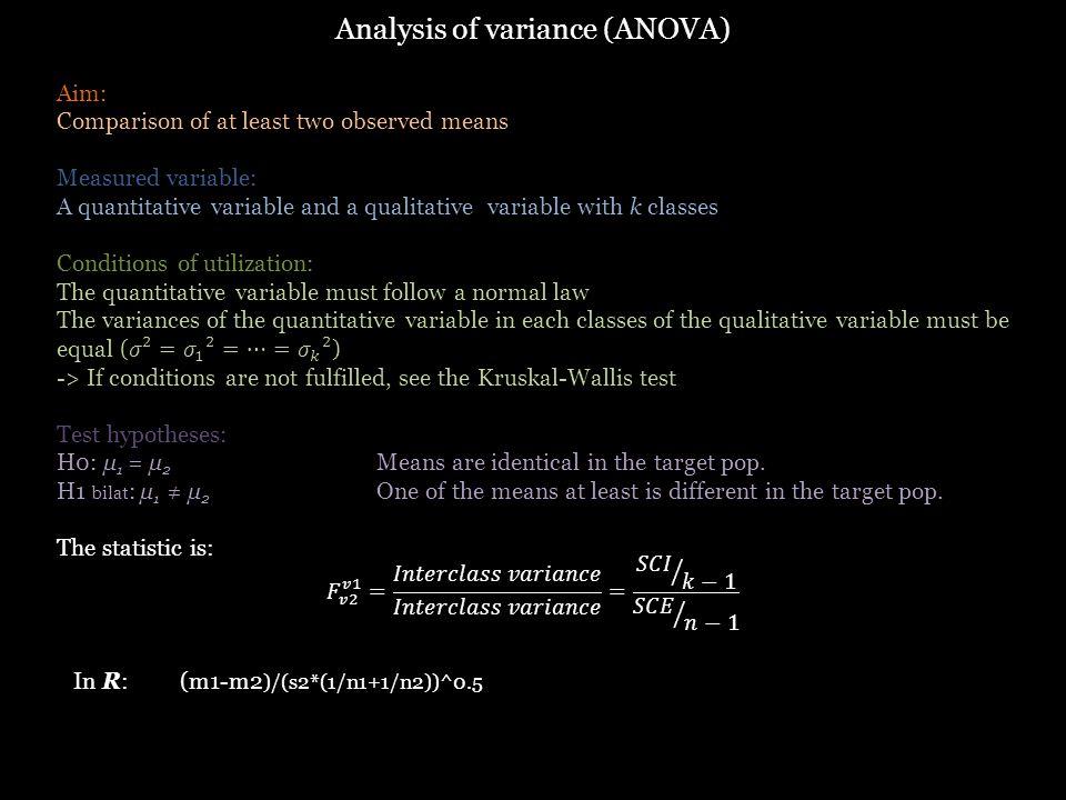 In R:(m1-m2 )/(s2*(1/n1+1/n2))^0.5