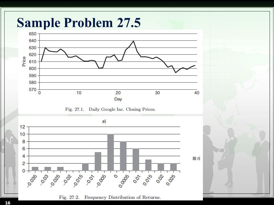 Sample Problem 27.5 16