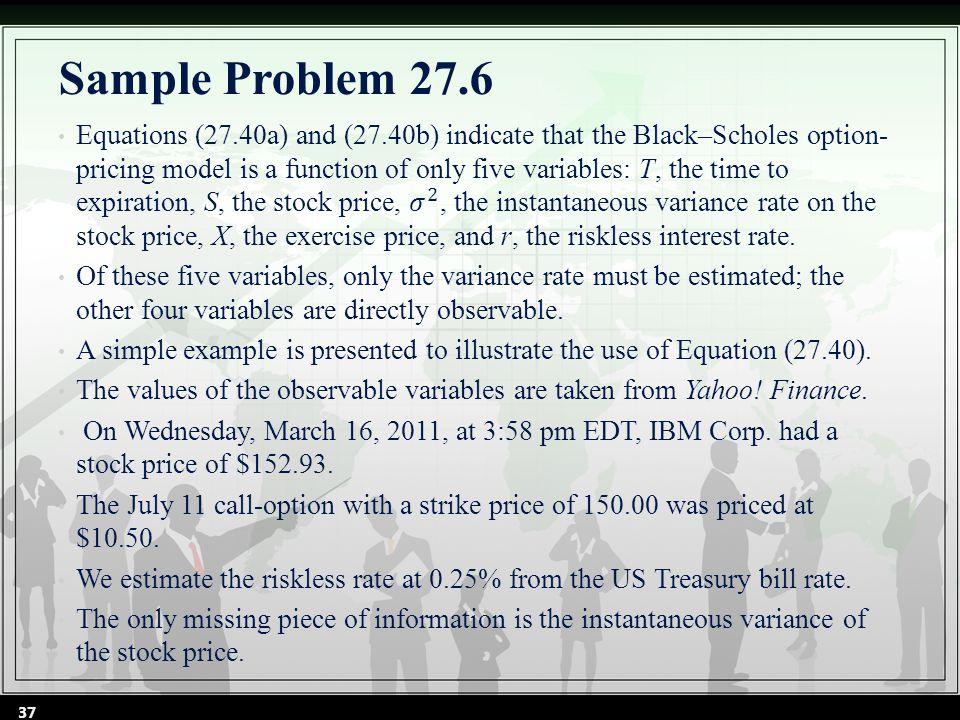 Sample Problem 27.6 37