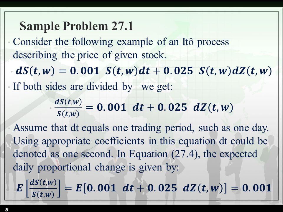 Sample Problem 27.1 8