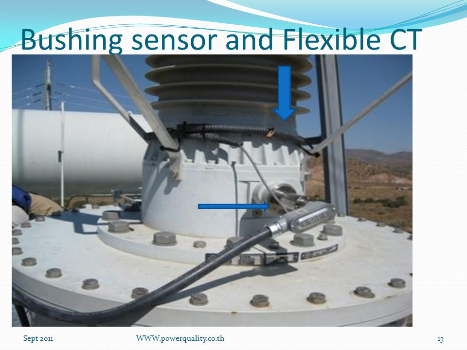 Bushing sensor and Flexible CT Sept 2011WWW.powerquality.co.th13