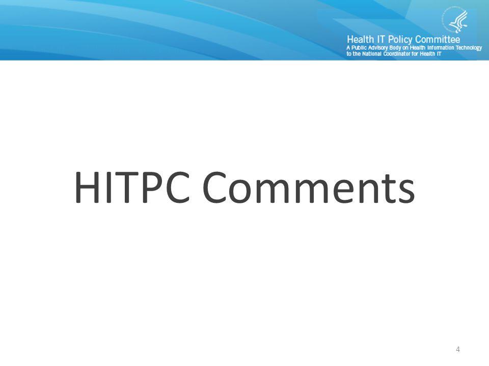 HITPC Comments 4