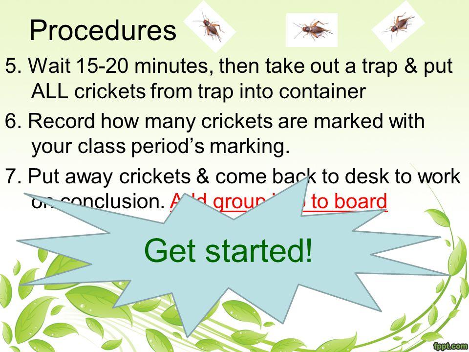 Procedures 5.