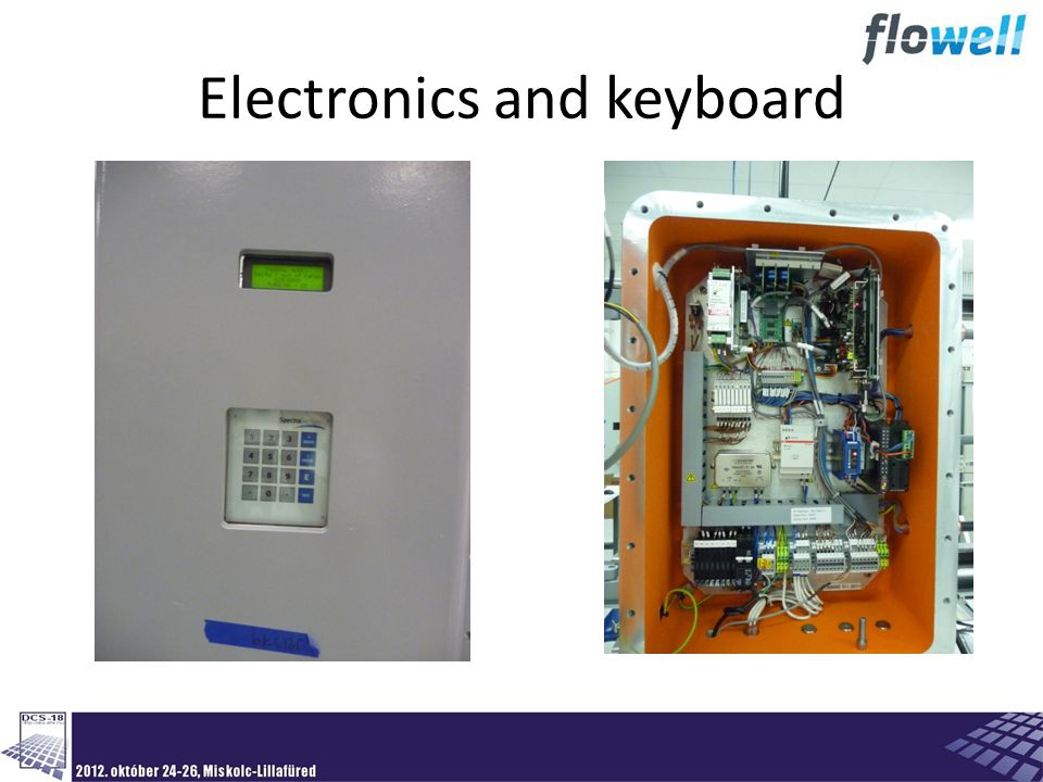 Electronics and keyboard