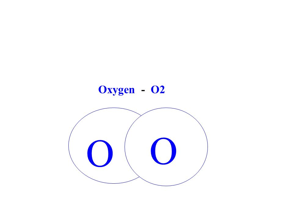 O O Oxygen - O2