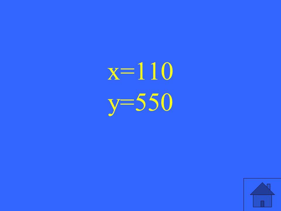 7 x=110 y=550