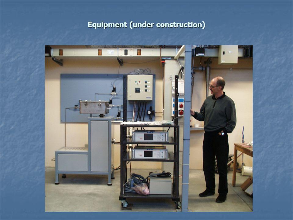 Equipment (under construction)