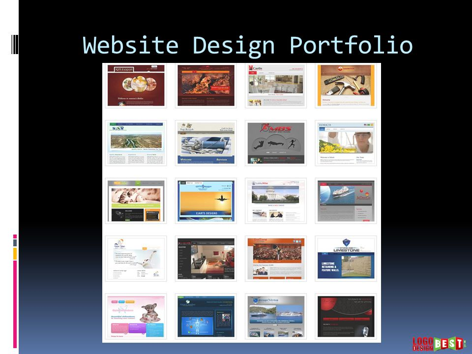 Website Design Portfolio