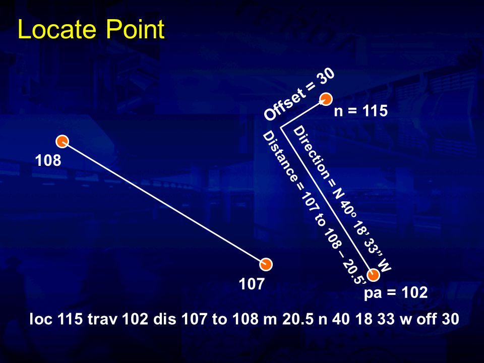 Lines and Line Segments Direction pb pa Line Line Segment