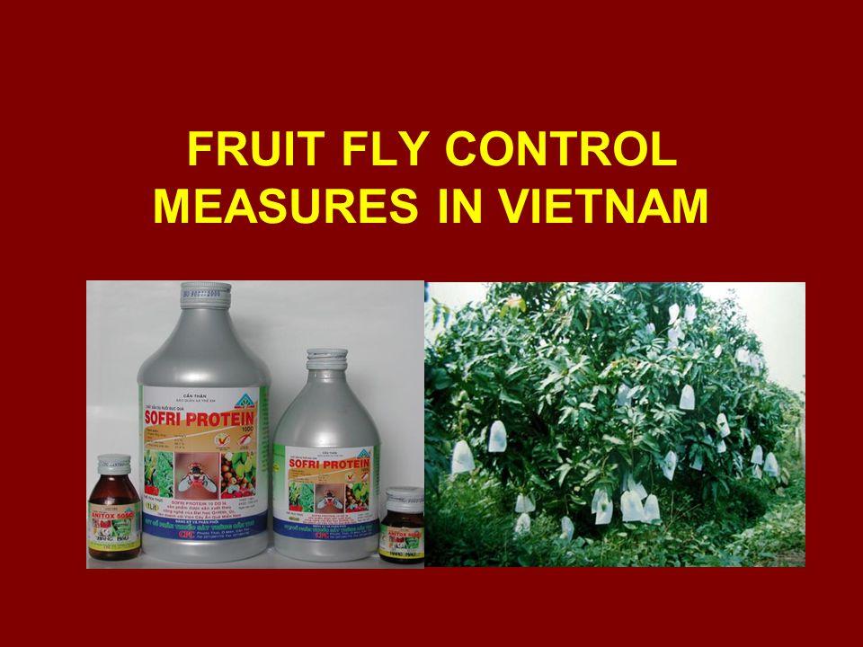 FRUIT FLY CONTROL MEASURES IN VIETNAM