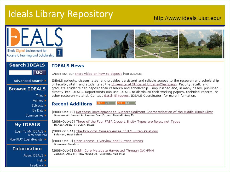 Ideals Library Repository