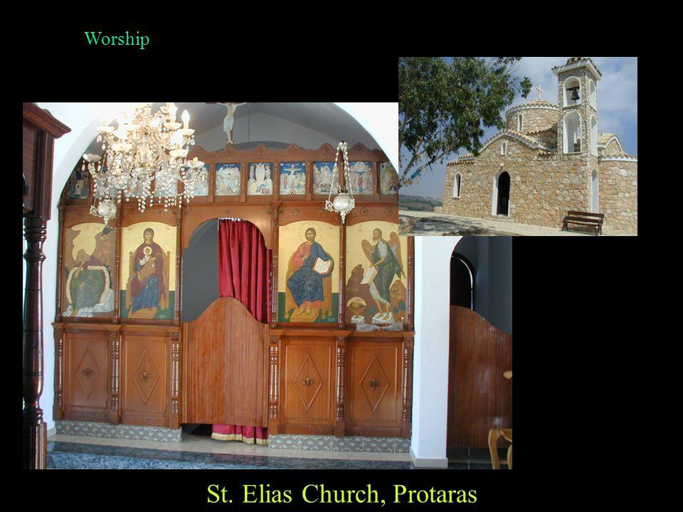 Worship St. George's Church, Paralimni