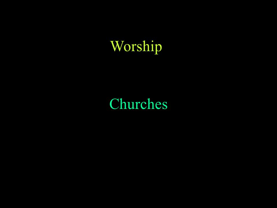 No Tradition of Theology like the West Doctrines set in the Councils Focus is on Worship In Life, Community and Church Theology