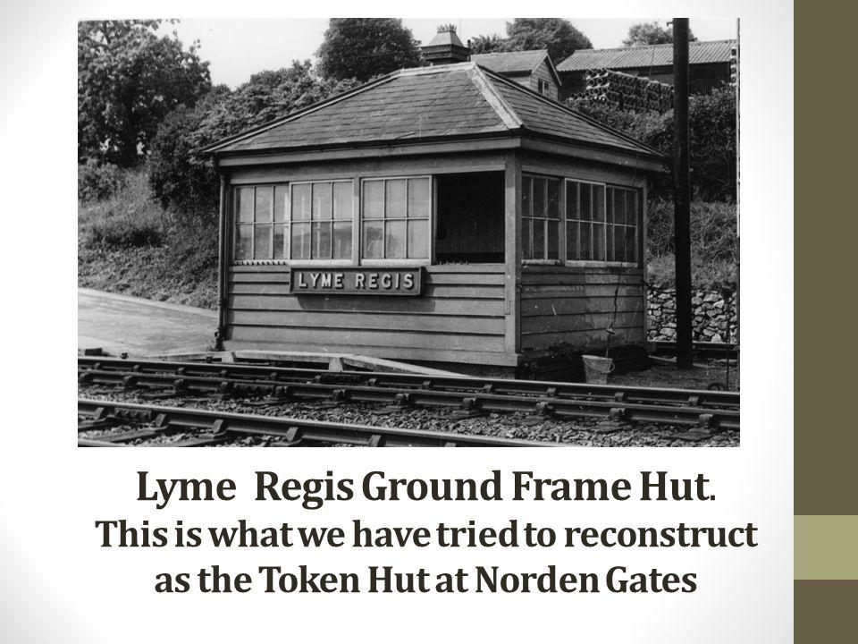 Lyme Regis Ground Frame Hut.