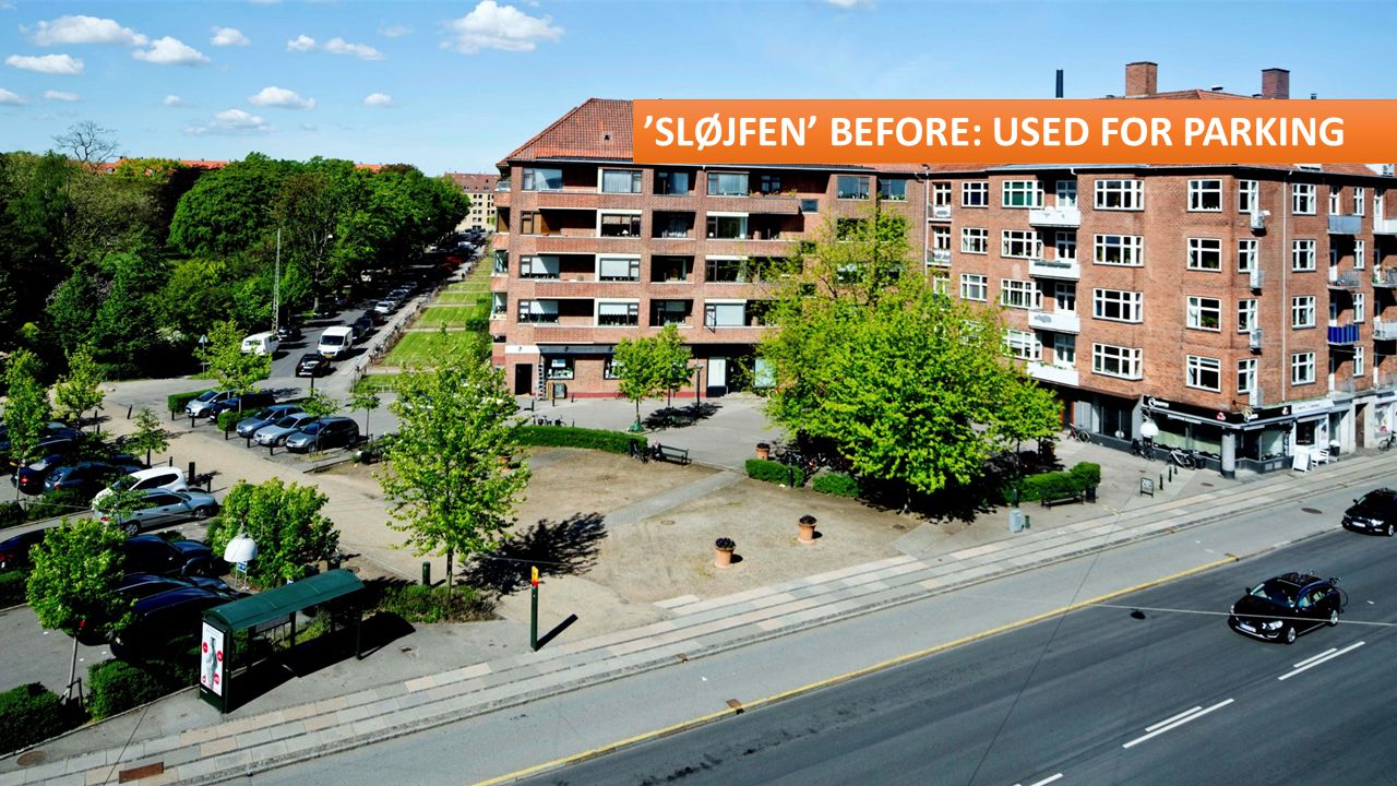 'SLØJFEN' BEFORE: USED FOR PARKING